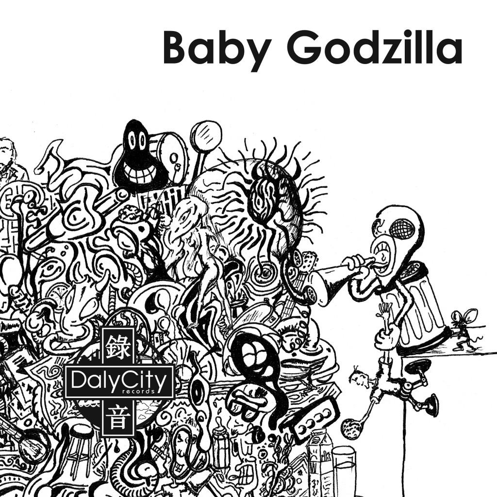 baby godzilla - cover
