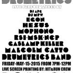 Drumetrics May 15 2015